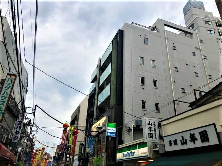 商店街の住宅