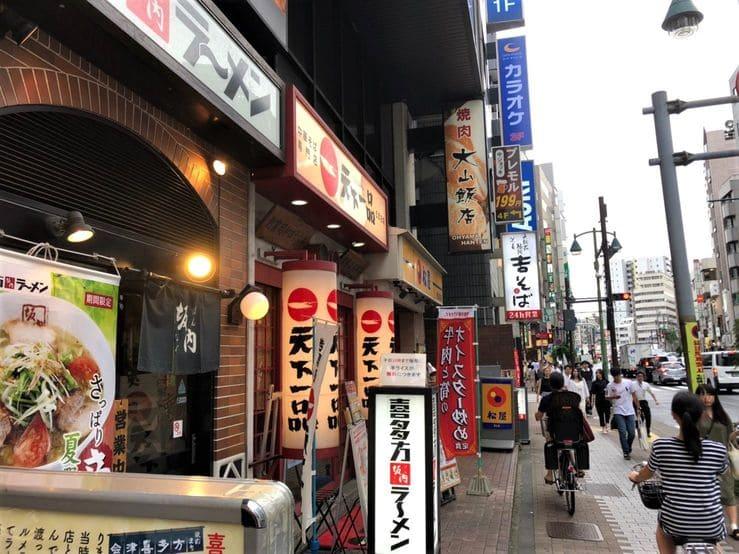 五反田駅の繁華街