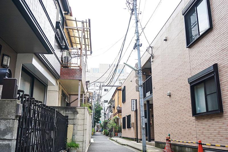 氷川神社周辺の綺麗な住宅