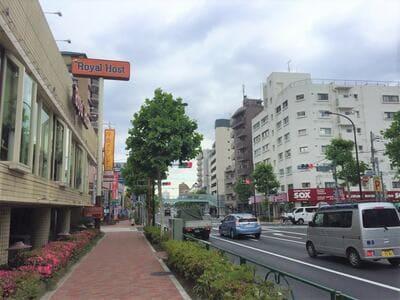 新江古田駅周辺の風景