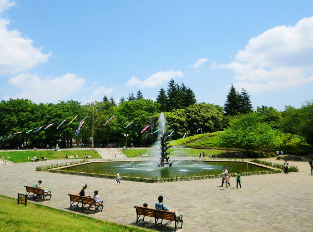 世田谷公園の風景