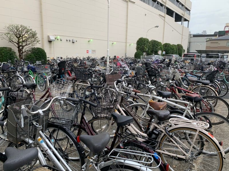 サミット・ニトリ・コジマの駐輪場
