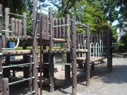 西巣鴨公園の風景