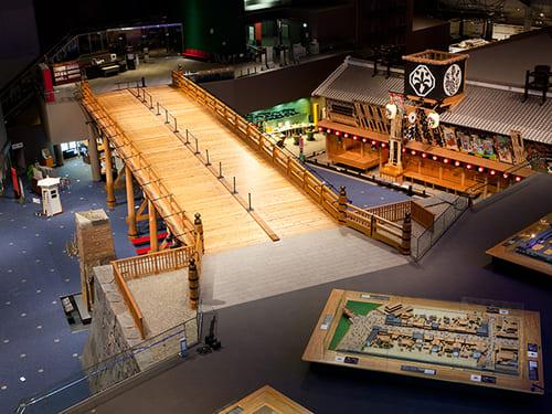 江戸東京博物館の内装