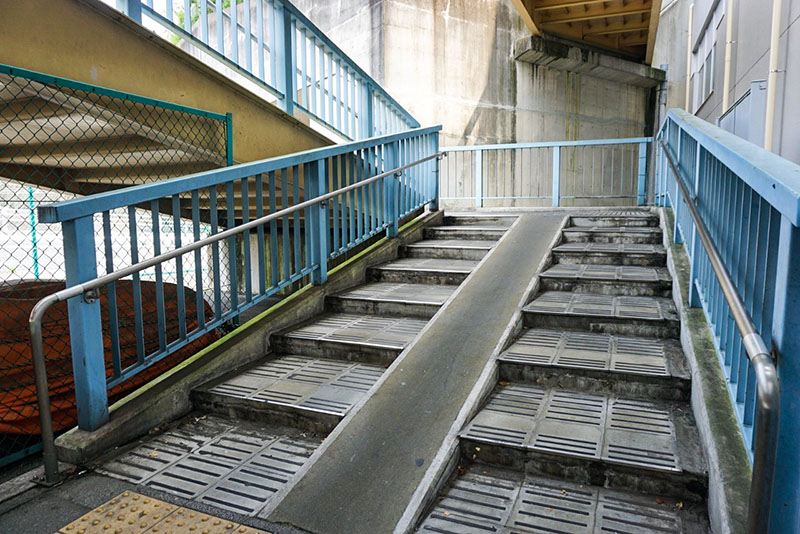 千住新橋南詰の陸橋2