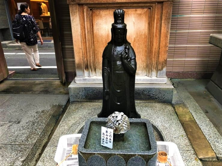 高岩寺の洗い観音