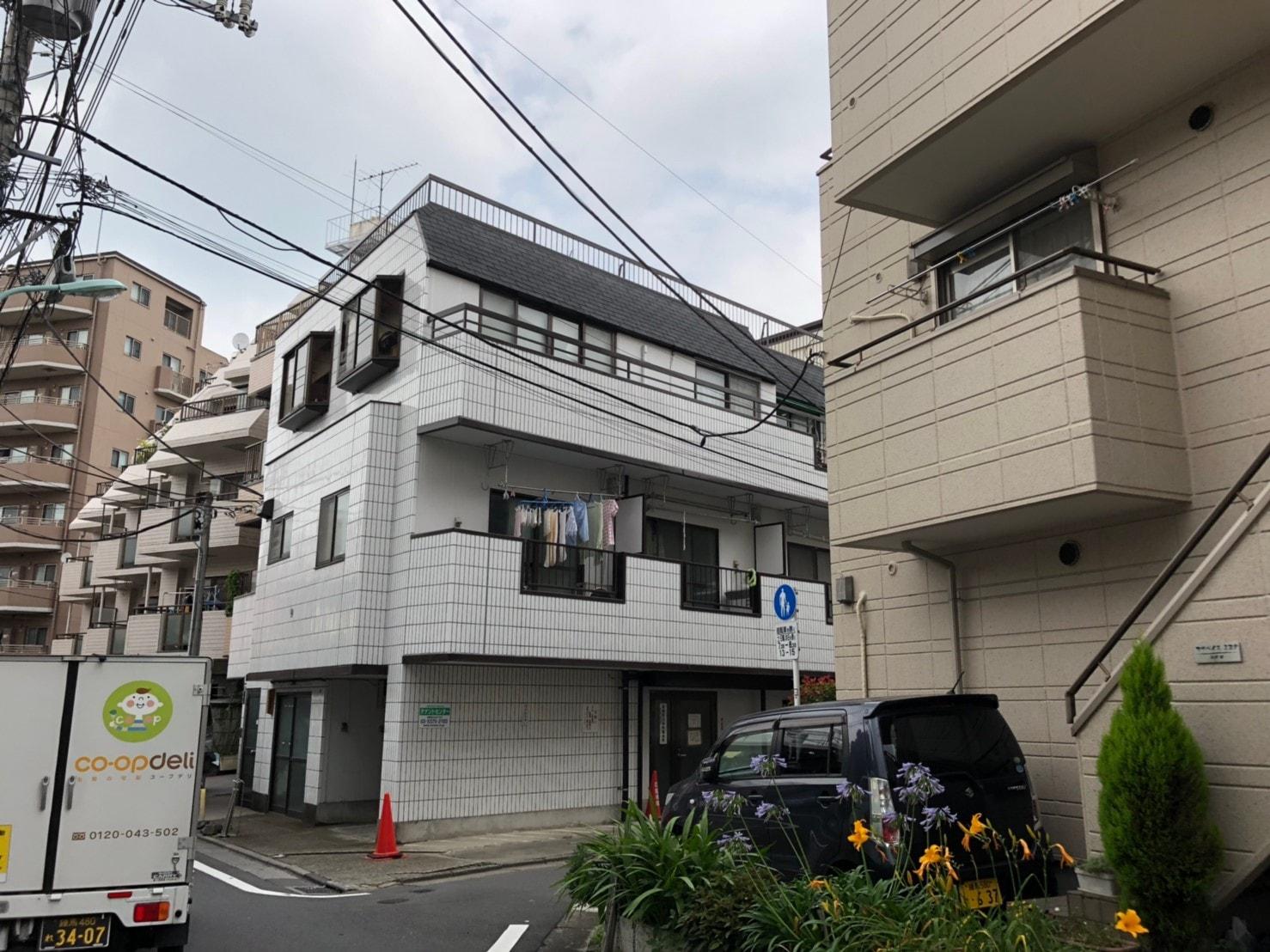 板橋本町駅周辺の住宅街