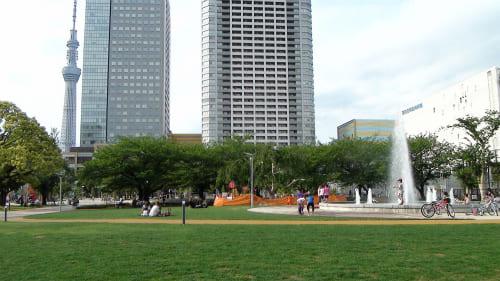 錦糸公園の外観