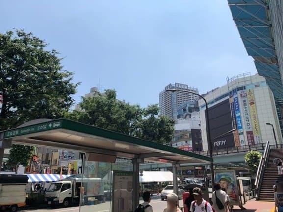 五反田駅東口ロータリー