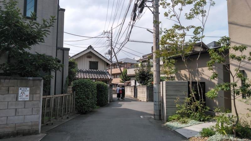 志木駅から北西の住宅街