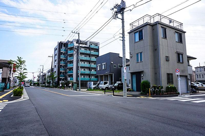 瑞江駅西通りの風景