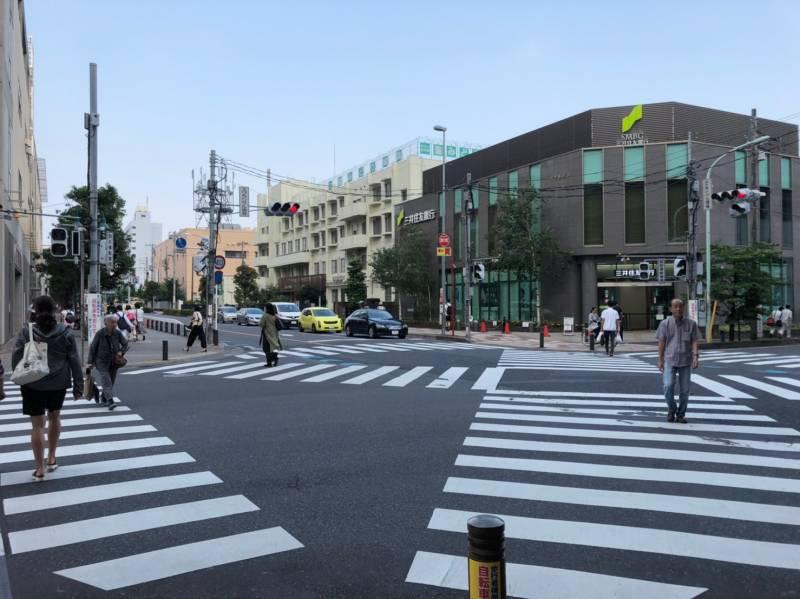 武蔵浦和駅前の交差点