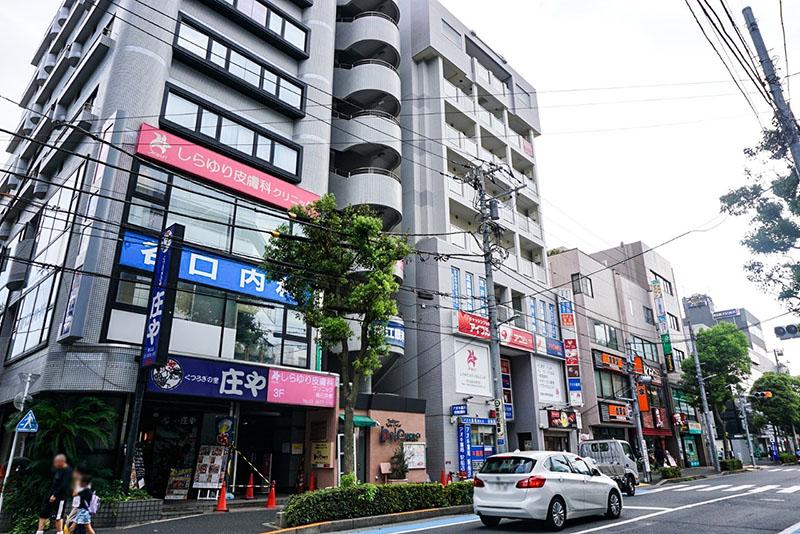 瑞江駅北口駅前の風景1