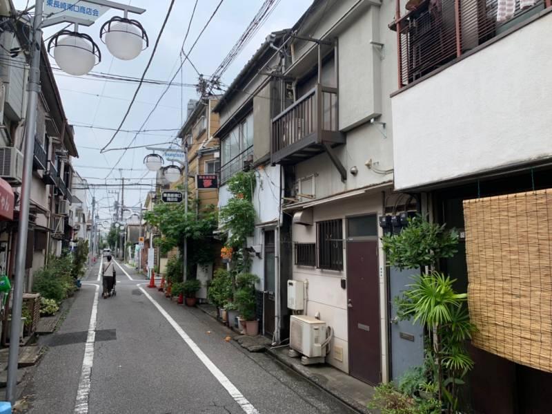 東長崎南口商店会の住宅街