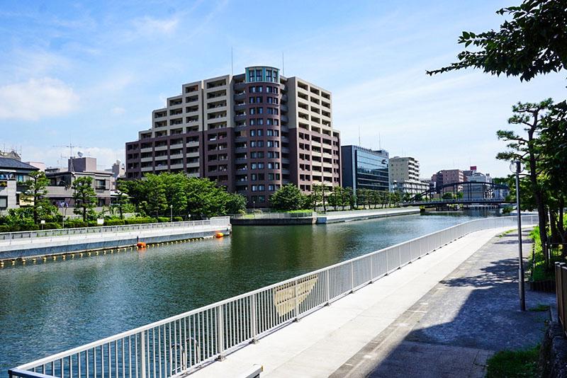 小名木川の遊歩道