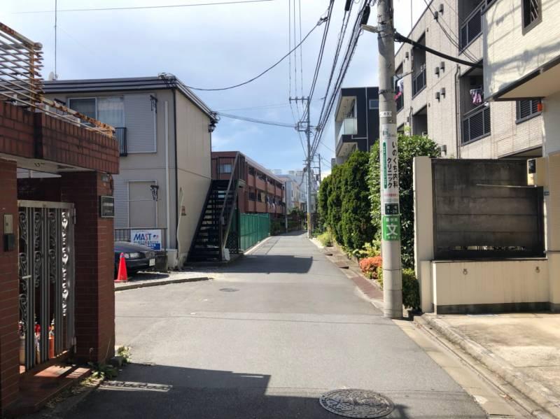 幡ヶ谷駅北側の街並み