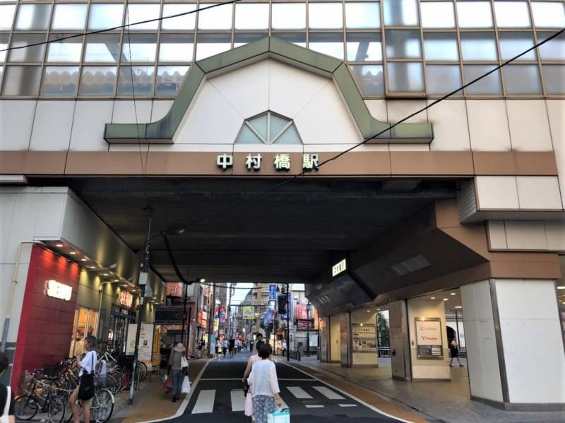 中村橋駅の外観