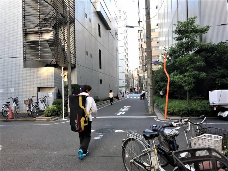 東京都台東区上野1丁目の路地
