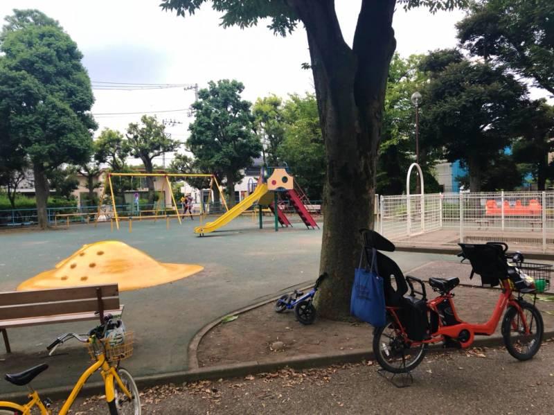 羽根木公園の遊具