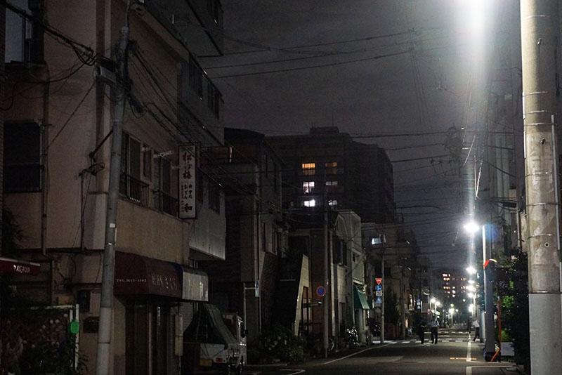 東陽町駅周辺の夜の住宅街2