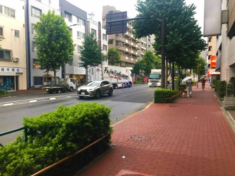 目白通りの街並み