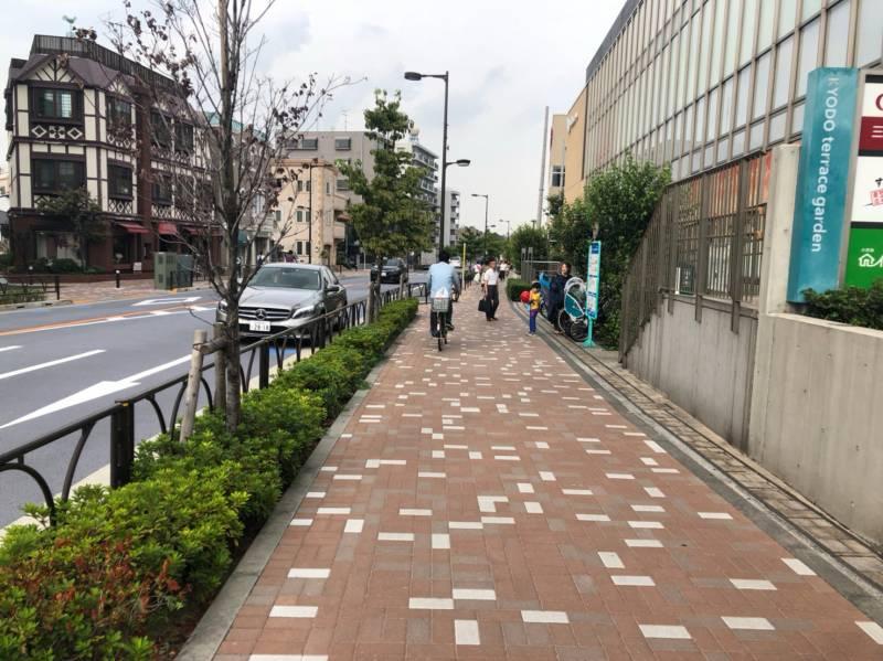 西福寺通りの街並み