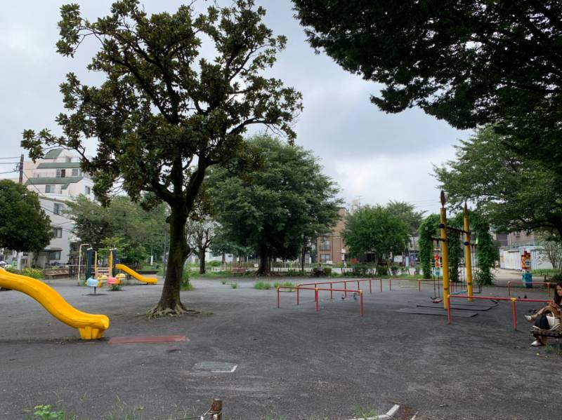 椎名町公園の風景