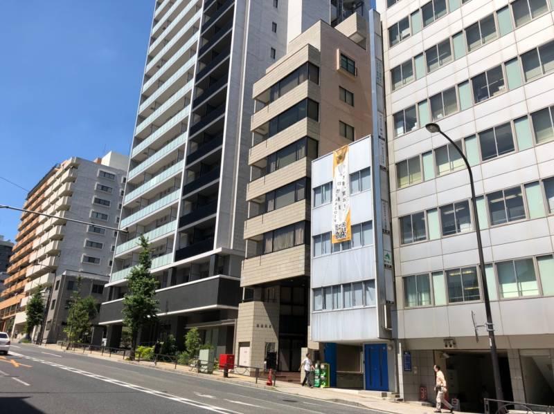 湯島坂の高層ビル