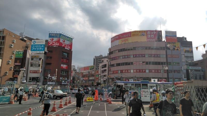 志木駅南口前