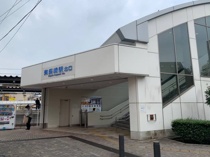 駅北口の外観