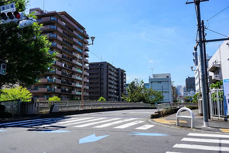 清川橋の風景