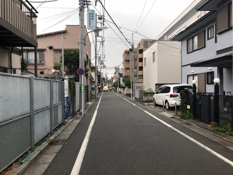 桜台駅北側の街並み