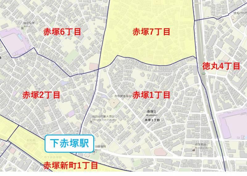 下赤塚駅周辺の犯罪データ