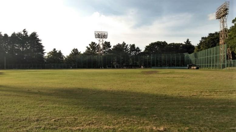 城北中央公園 野球場A<br />