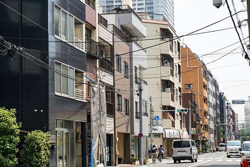 清平橋の通りの風景