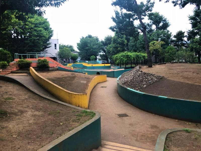 羽根木公園の迷路