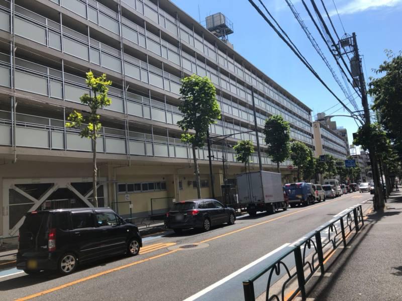 幡ヶ谷駅北側のアパート