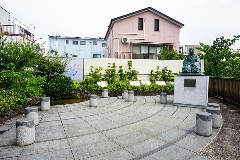 芭蕉庵史跡展望庭園2