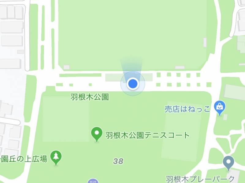 羽根木公園現在地4