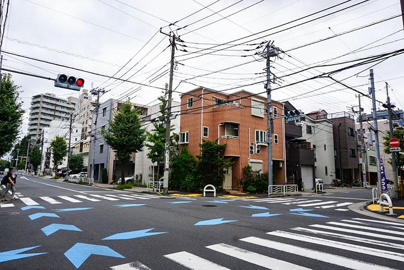 大門通りの交差点