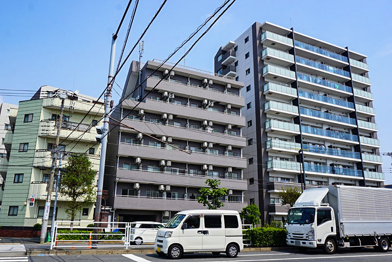 堀江並木通りのマンション