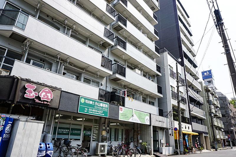 江東橋公園前のマンション