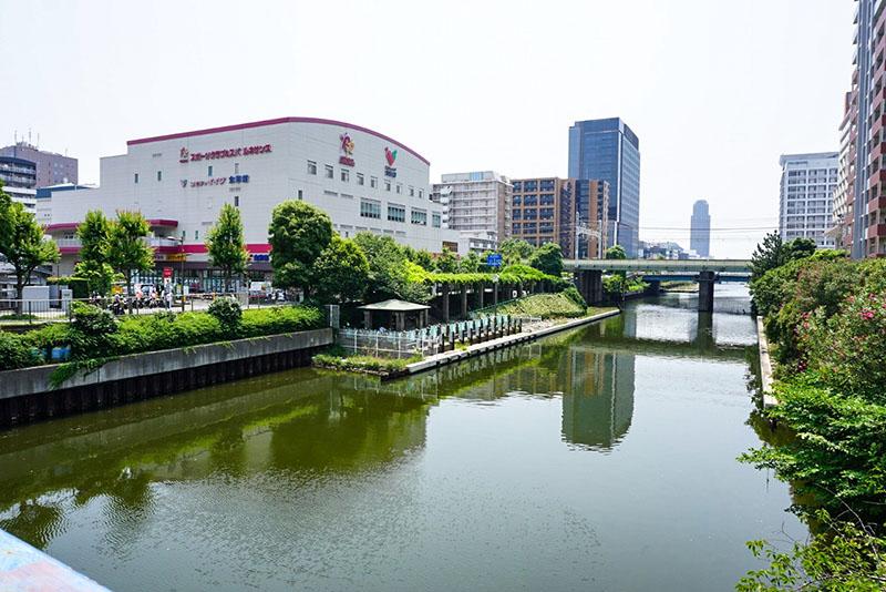 錦糸橋の上から見た南側の風景