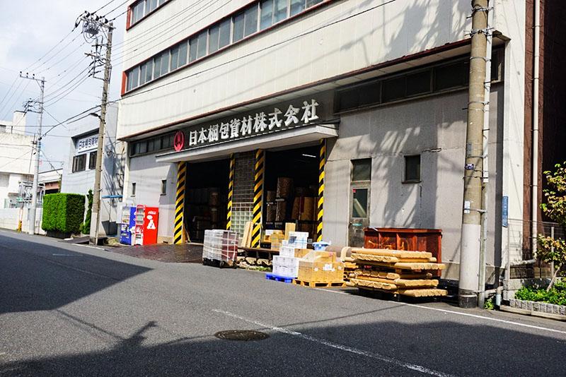小松川近くの工場