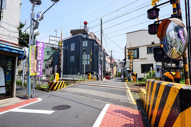 東武亀戸線の線路