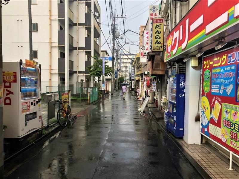桜台駅南口から見える風景