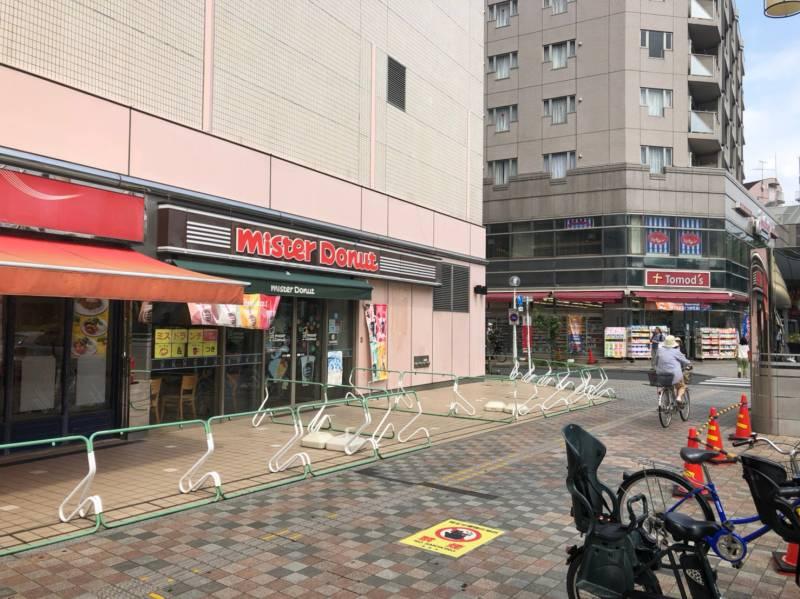 清瀬駅北側のお店