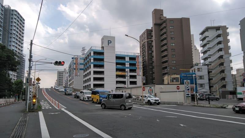 志木駅 南東の陸橋