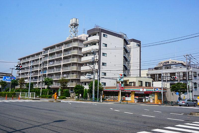 清砂大橋通りの交差点