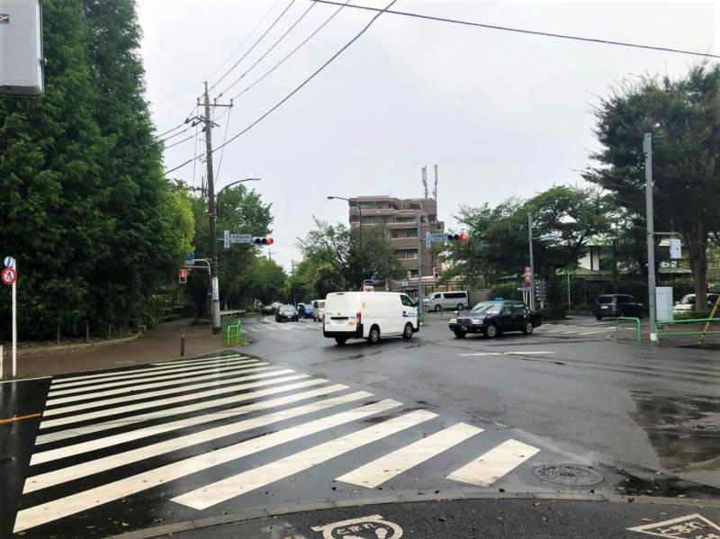 豊島園通り交差点